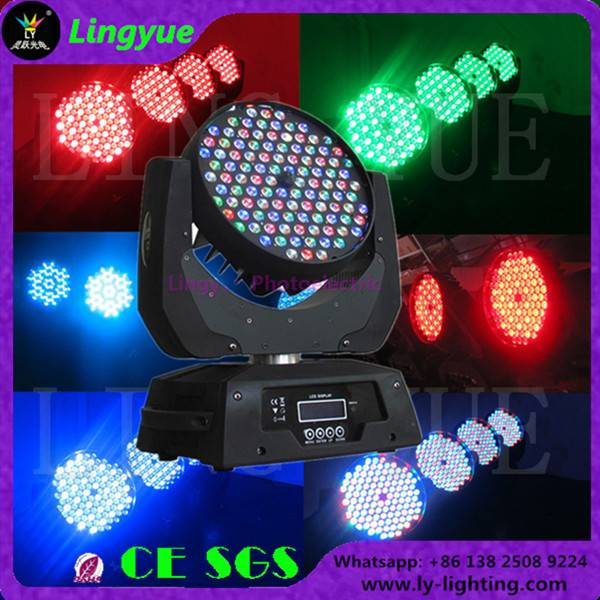 108X3W RGBW indoor led wash moving head