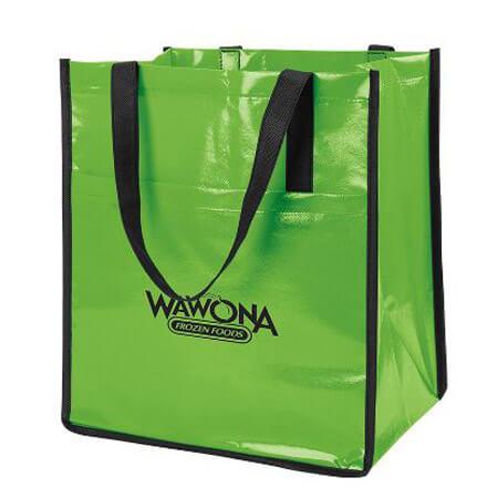 Glossy laminated non - woven bag