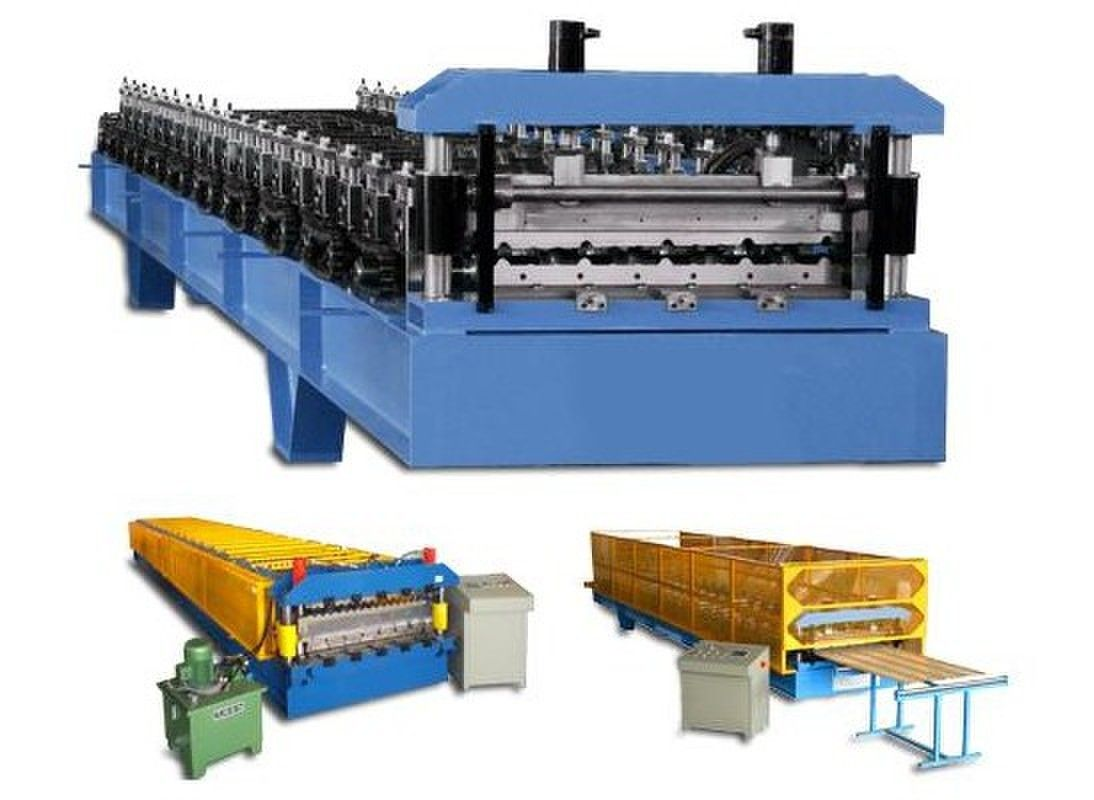 Wall Cladding Panel Cold Roll Forming Machine