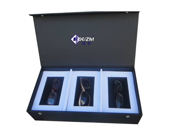3 pairs woodend glasses display box manufacturer