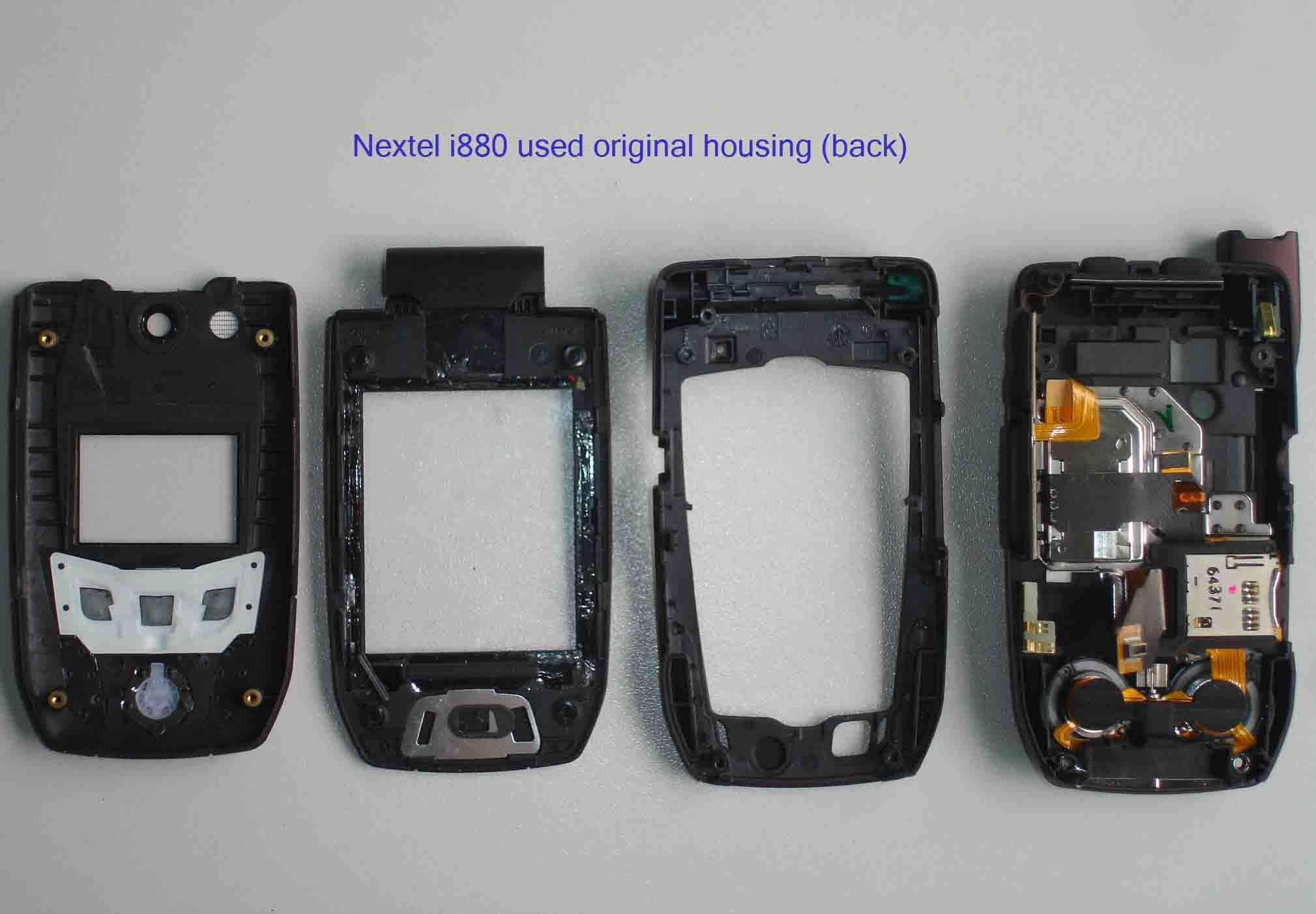 Nextel i880 Used Original Housing Back