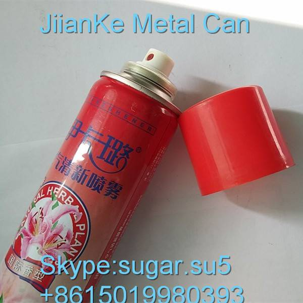 Aerosol cans for body spray China manufacturer