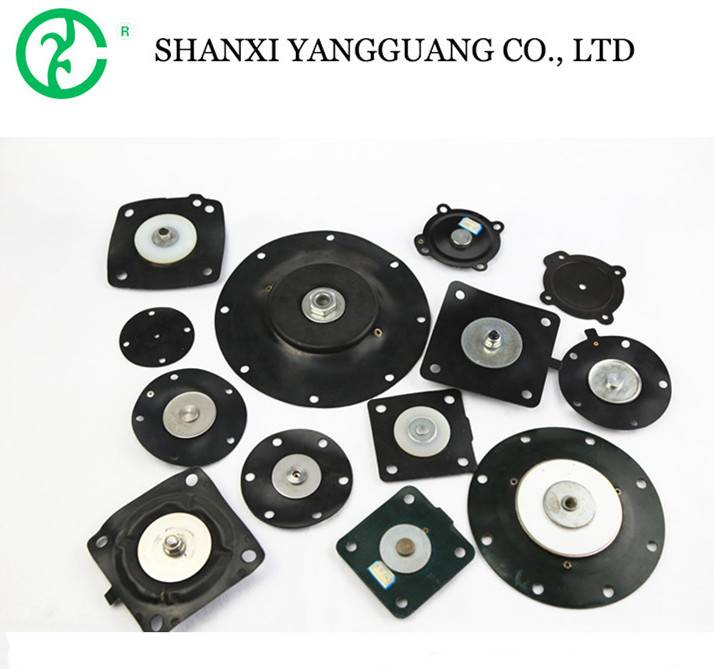 Various of pulse solenoid rubber valve diaphrams