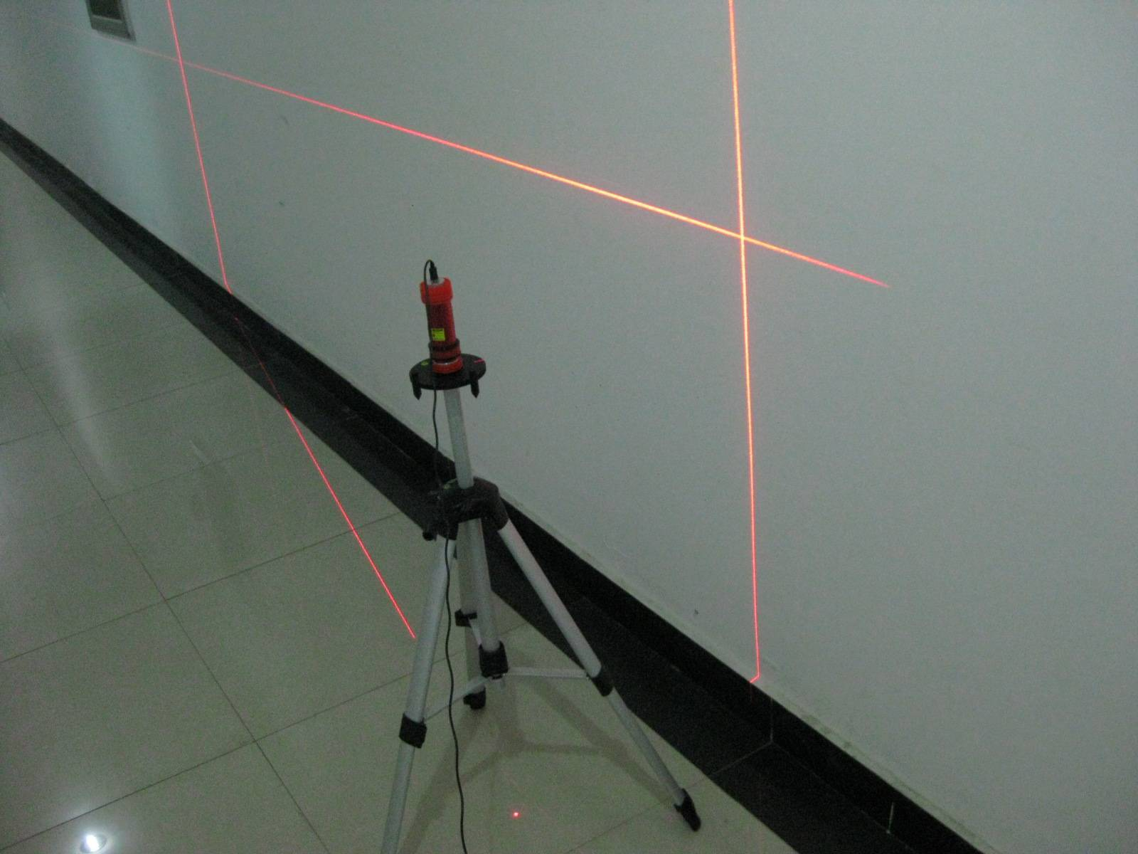 Multi-functional cross laser level with LED flashlight