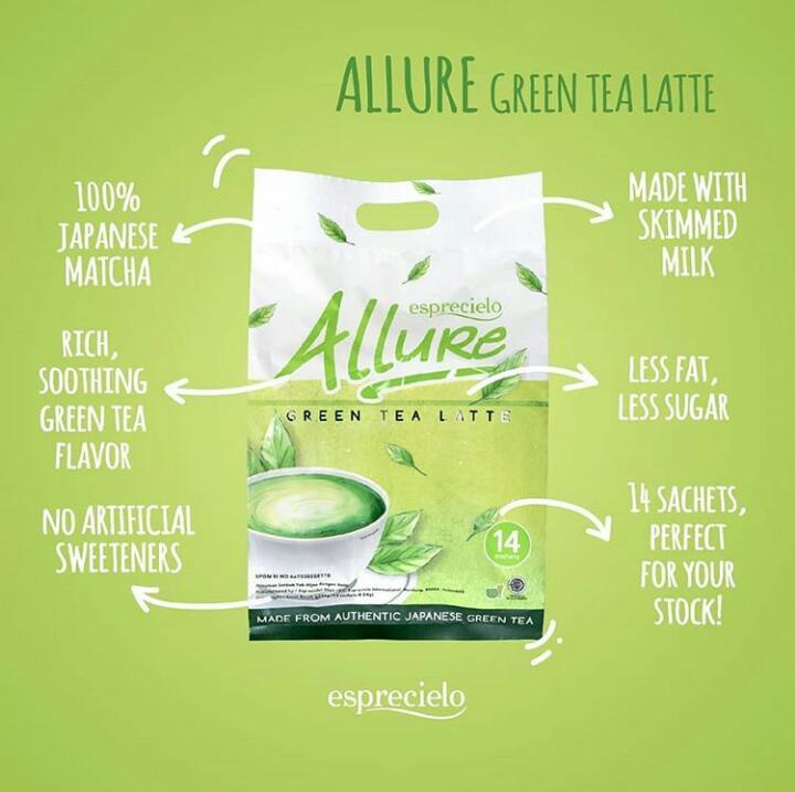 Allure Green Tea Latte