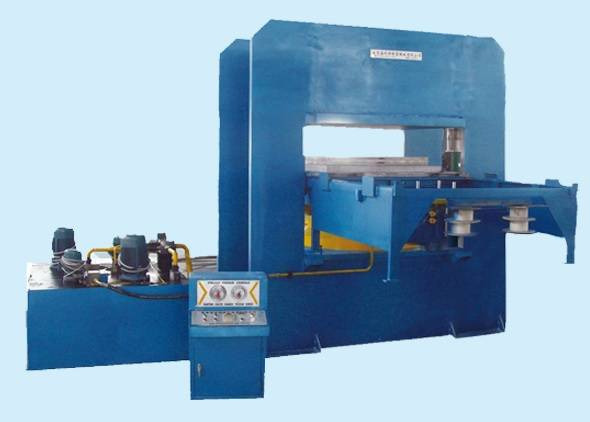 Teflon PTFE sheet machine hydraulic press line