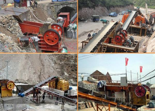 Stone Crushing Line with Capacity of 800-1,000t/h