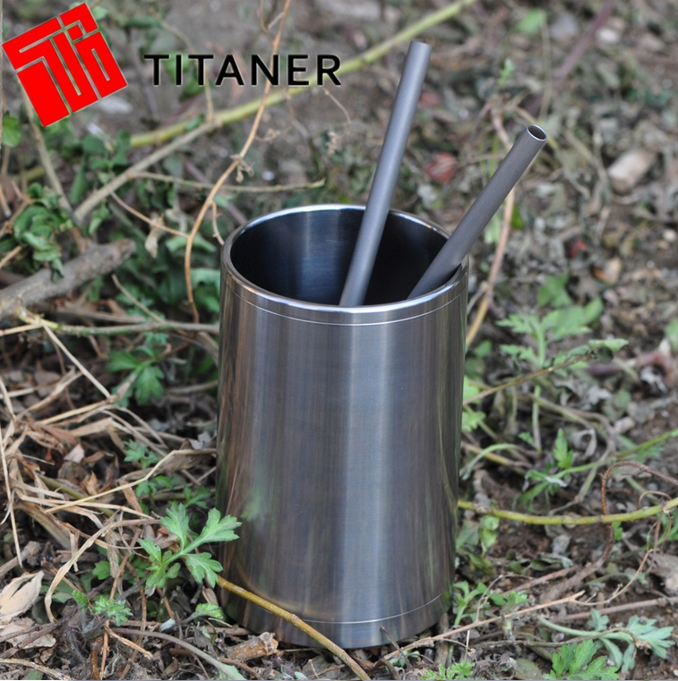 Most Welcome Promotional Custom Engraved Logo Titanium Coffee Mug Cup Gifts