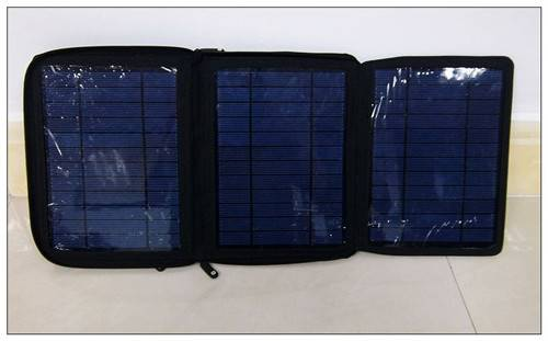 15W Foldable Solar Panel charger for Laptop,mobile phone.