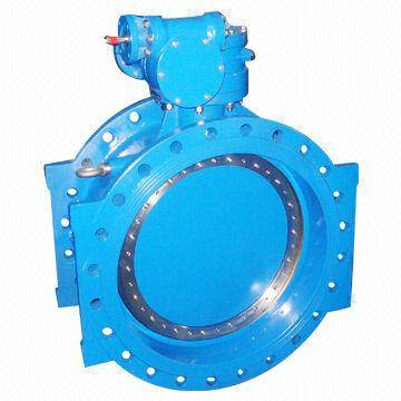 JR-BT-07 Flanged butterfly valve with ductile iron body and rubber seal