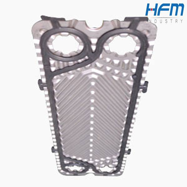 Heat exchange unit, heat exchanger parts plate and gasket