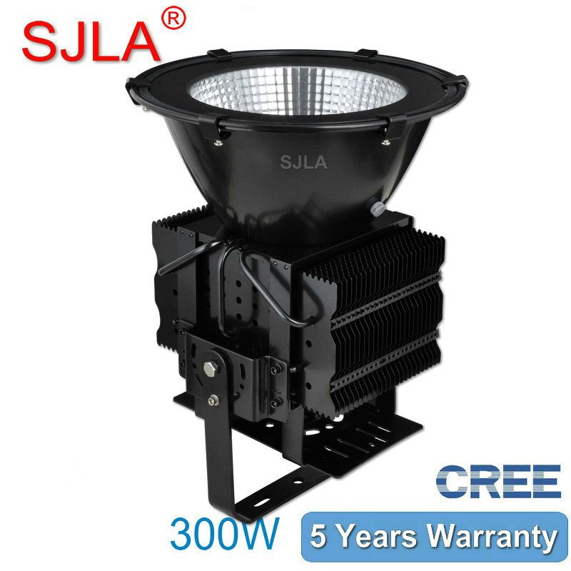 300W Outdoor Led Floodlight IP65 High Bay Light Warehouse Marketplace Workshop lamp 5Years Warranty