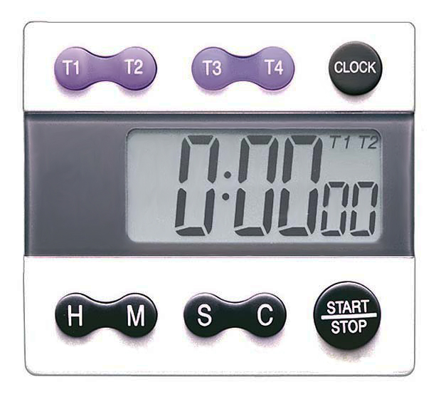 4 Channel Large LCD Digital Timer TR-388