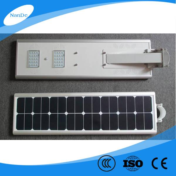 2016 high quality integrated solar street light for projects