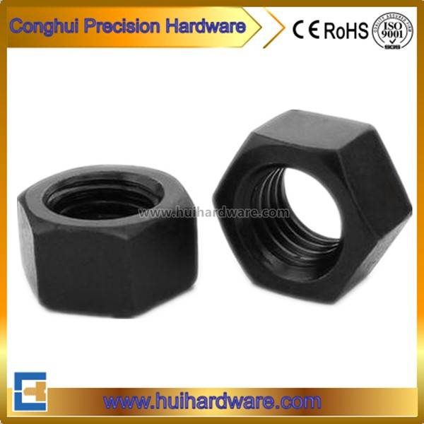 Carbon Steel Class 8 Hex Nut Black