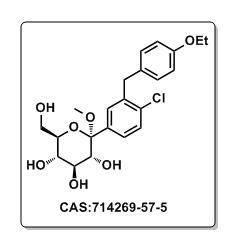 Ddapagliflozin Intermediates CAS#714269-57-5(2S,3R,4S,5S,6R)-2-(4-chloro-3-(4-ethoxybenzyl)phenyl)-6