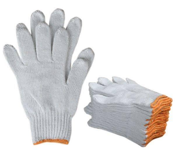 Cotton yarn gloves