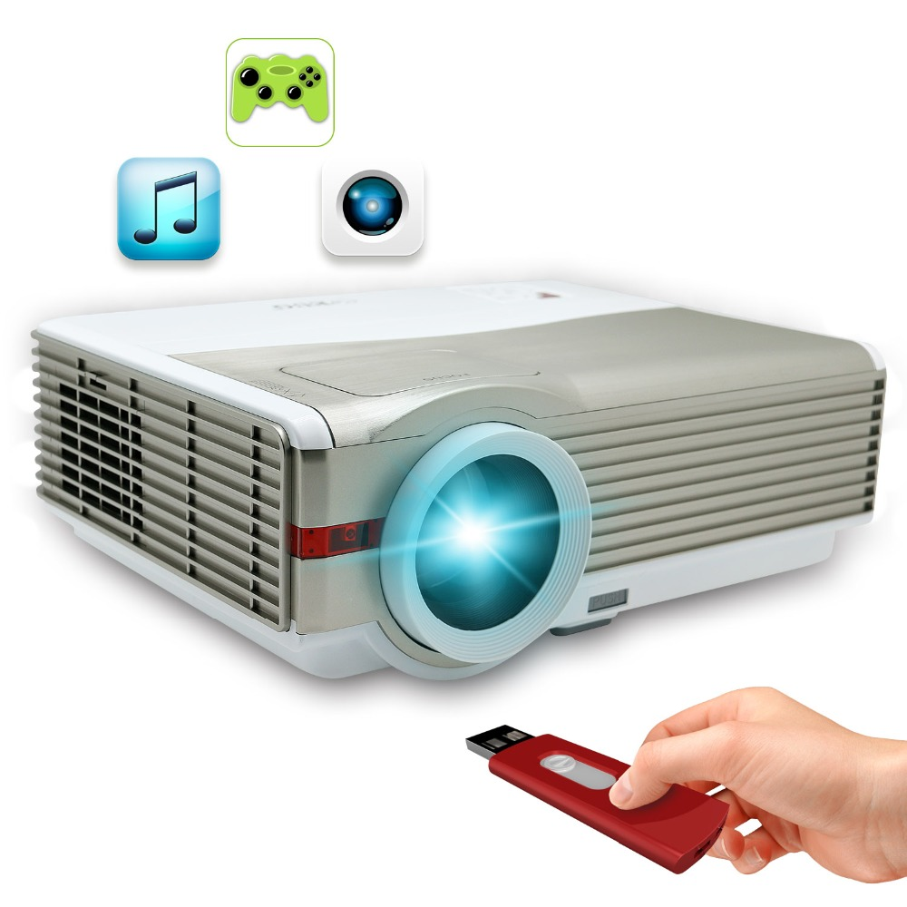 led projector 1280800 support 1080 for home theater