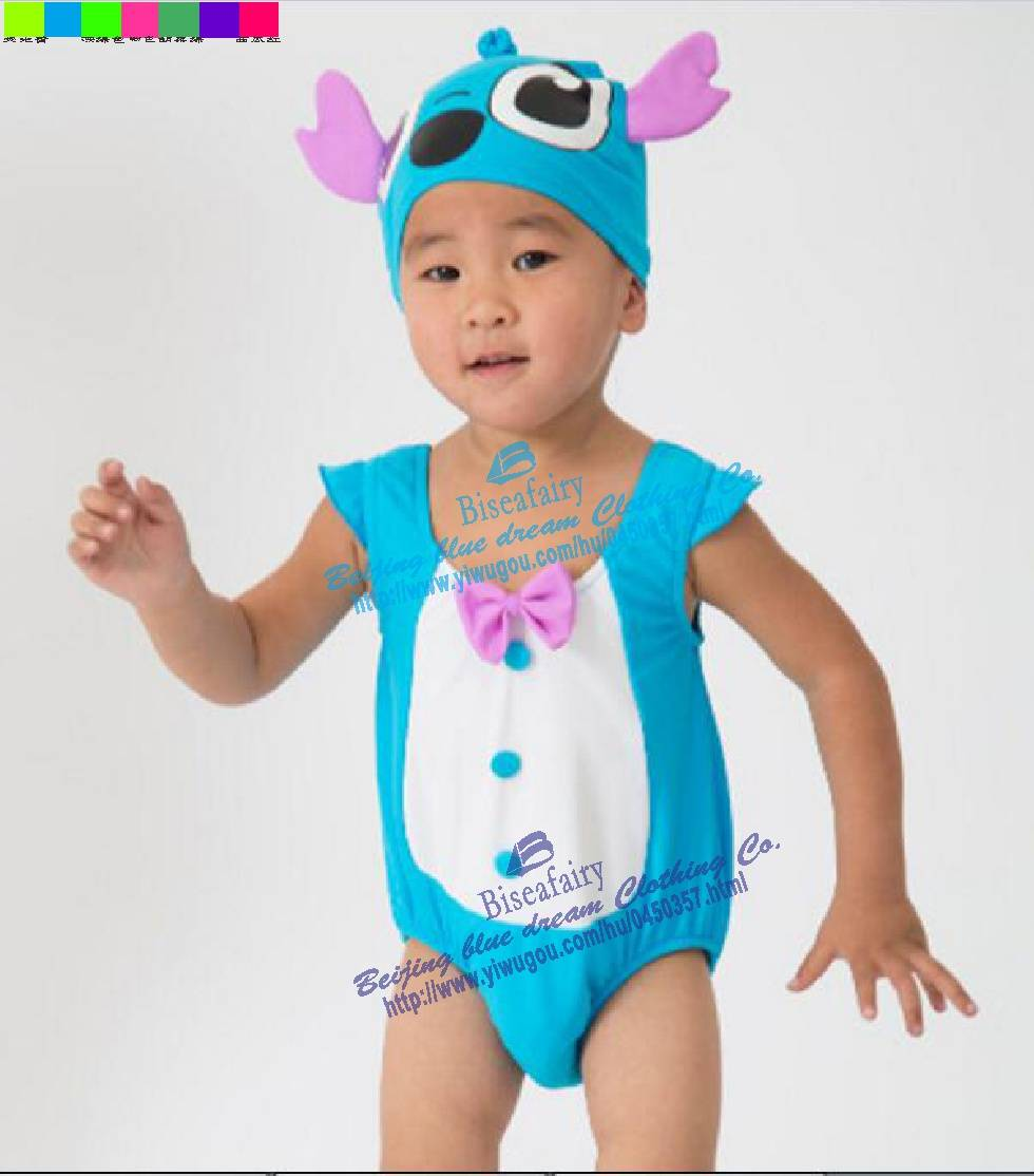 New Design Cartoon infants&toddlers swimming suit