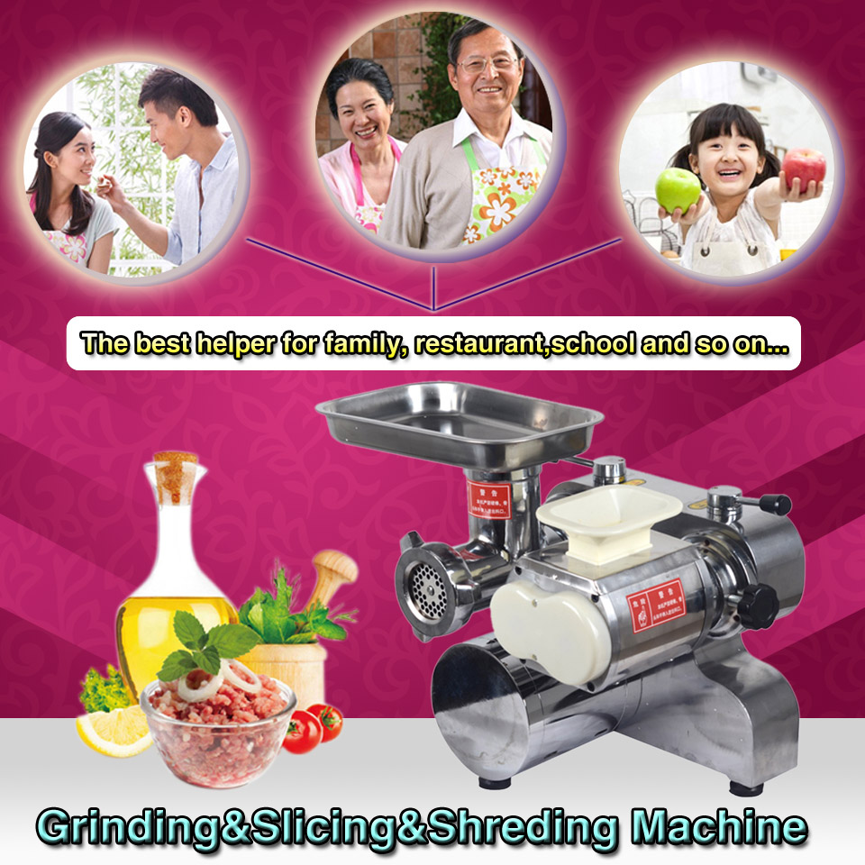 Stainless steel cheap price meat cutter ,meat cutting machine,DHL shipping
