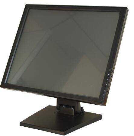 12 15 17 21inch true flat touch screen monitor for restaurant POS system