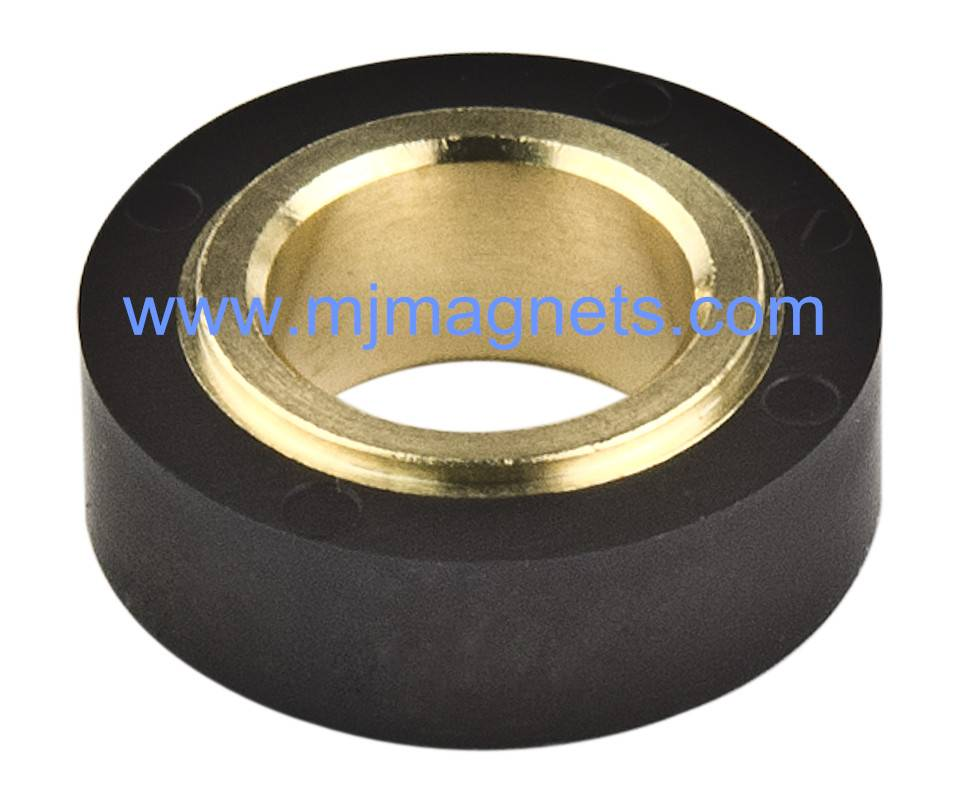 plastic injection molded ferrite magnet for automotive