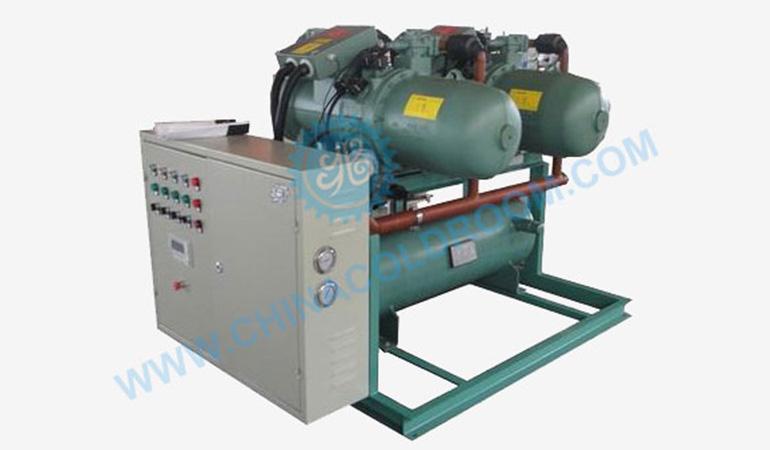 Semi-Hermetic Low Temperature Storage Screw Condensing Unit