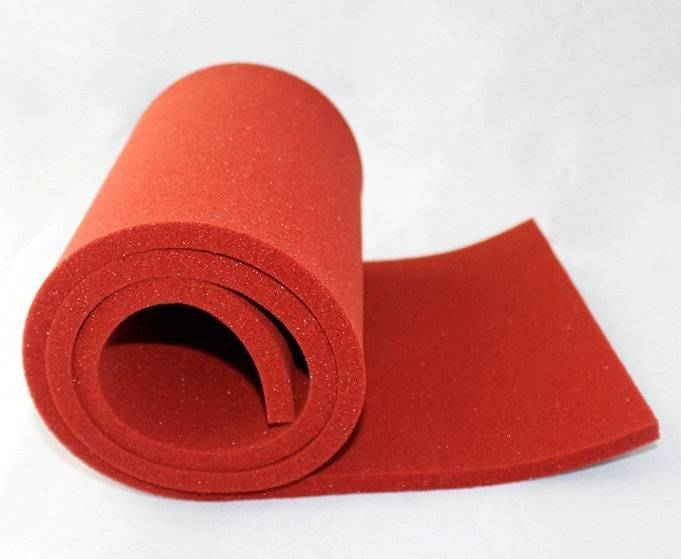 silicone foam pad for heat press machine