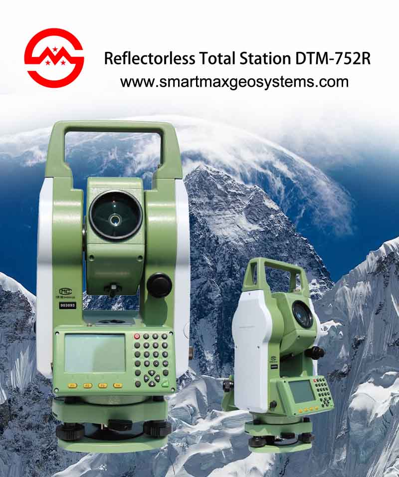DTM-752R Reflector less Total Station