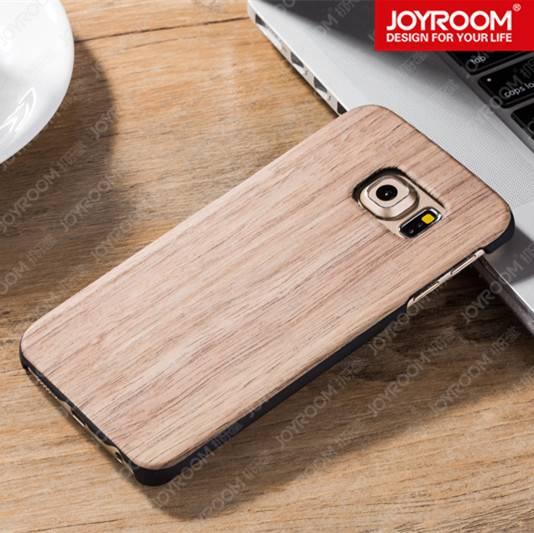 JOYROOM real wood mobile case for Samsung S6 edge phone case