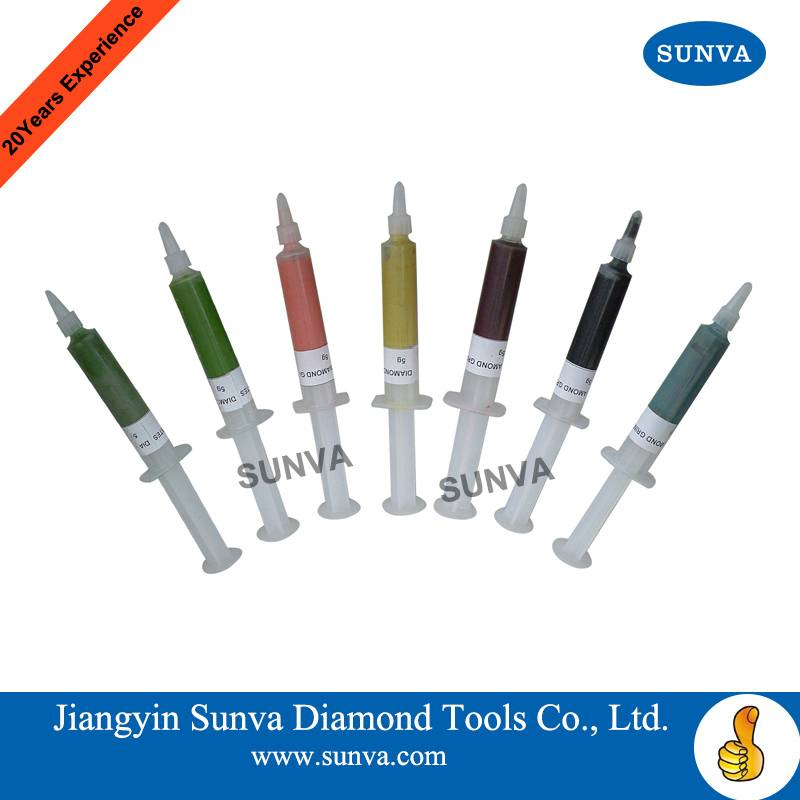 SUNVA Diamond Grinding Pastes / Polishing Paste / Diamond Tools