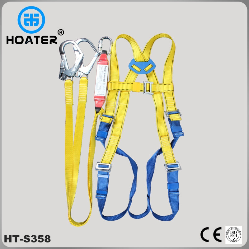 Safety Harness With Safety Lanyard