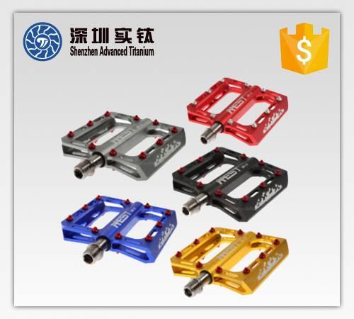 titanium bicycle pedals