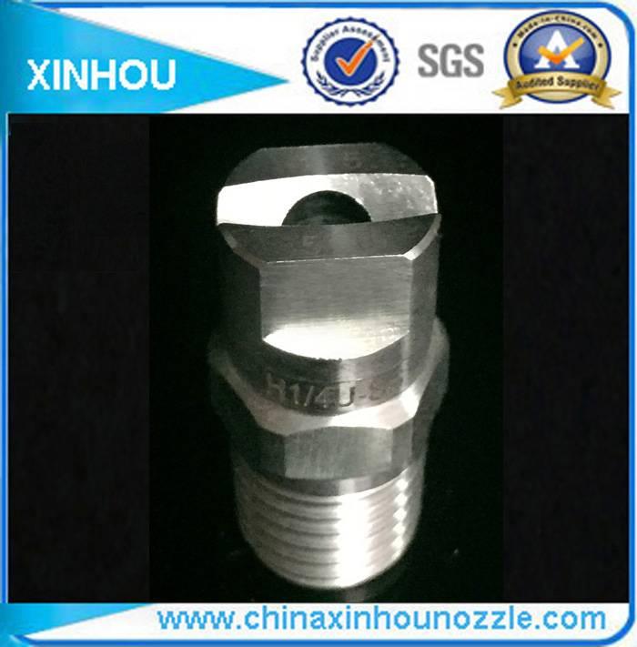 Stainless steel flat fan spray nozzle