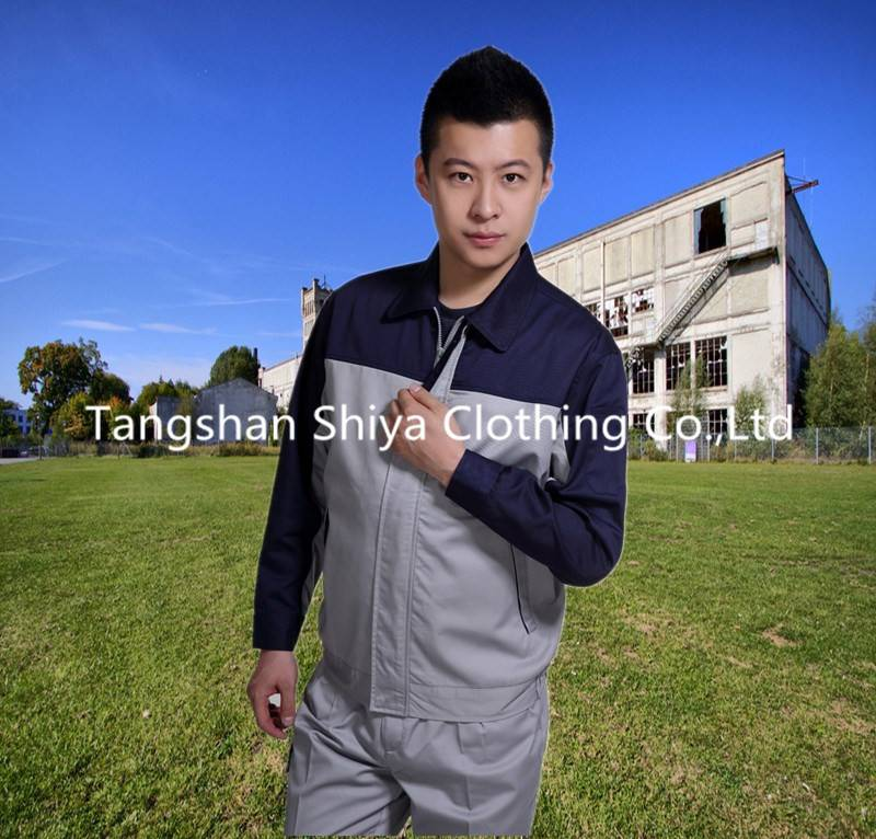 cheap polyester and cotton wholesale men work jacket