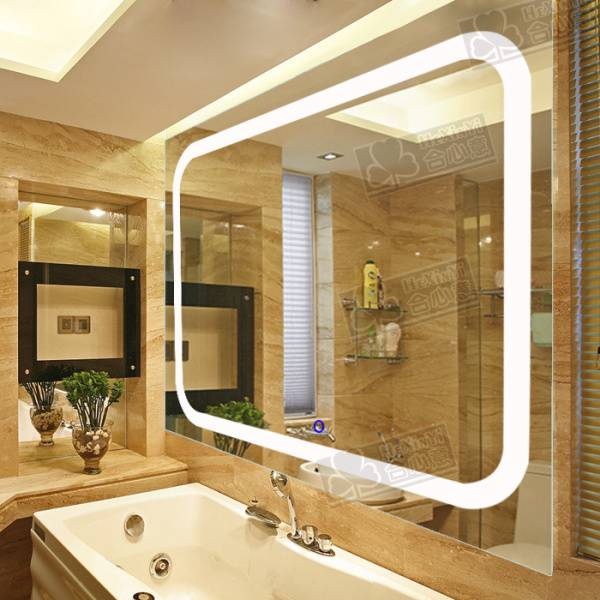 2015 new arrival luxury illuminated bathroom led mirror LED01