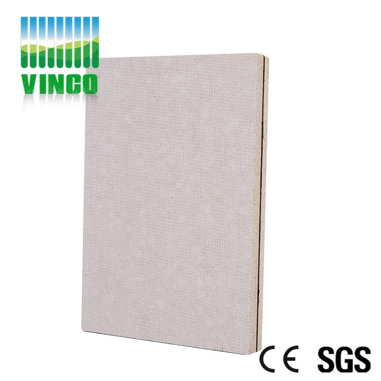building materials white color mgo gypsum board is used in soundproof booth