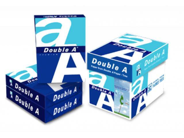 Double A. A4 Copy Paper 80gsm/75 gsm/70 gsm