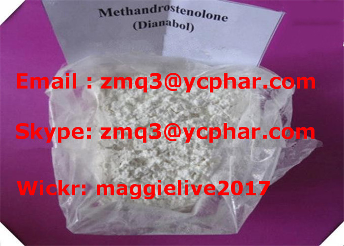 High Quality Steroid Methandrostenolone Metandienone Dianabol CAS: 72-63-9