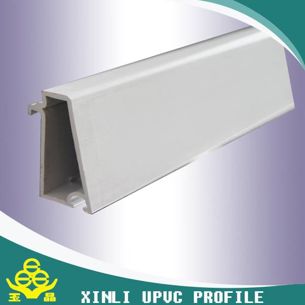 plastic upvc profile for window and door from china manufacture