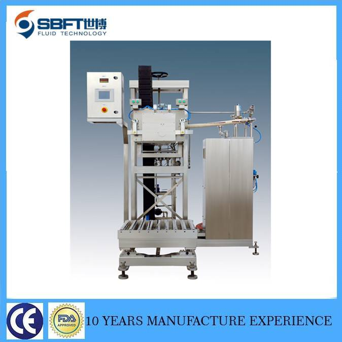 aseptic bag in box filling machine for fruit juice 1000liters