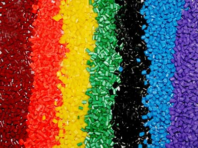 colorfully recycled hdpe
