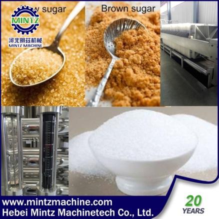 new technology raw Sugar 4000 ICUMSA refinery white sugar 35-45 ICUMSA machinery
