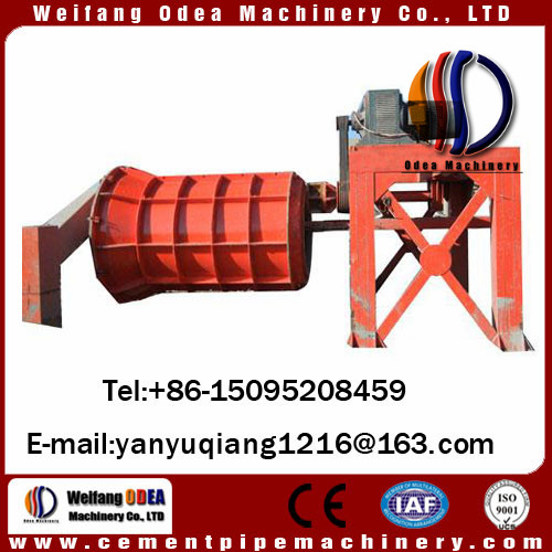 odea Rcc Pipe Making Machine , Cement Tube Forming Equipment Economical