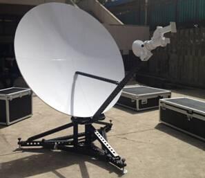 1.8m flyaway carbon fiber antenna