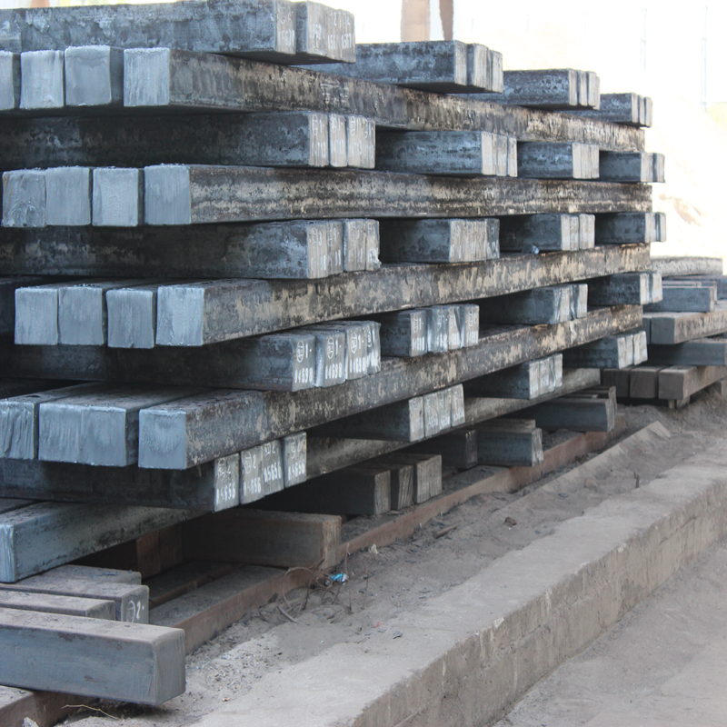 150mm square steel billets 6 meters and 12 meters in stock and regular production steel billets