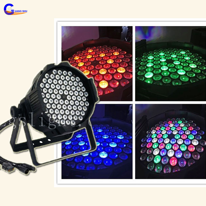 High Brightness 843w Multi-purposed LED Par Can Light For Conference Meeting