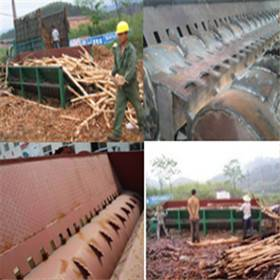 dualspindle rolling wood debarking machine for industry