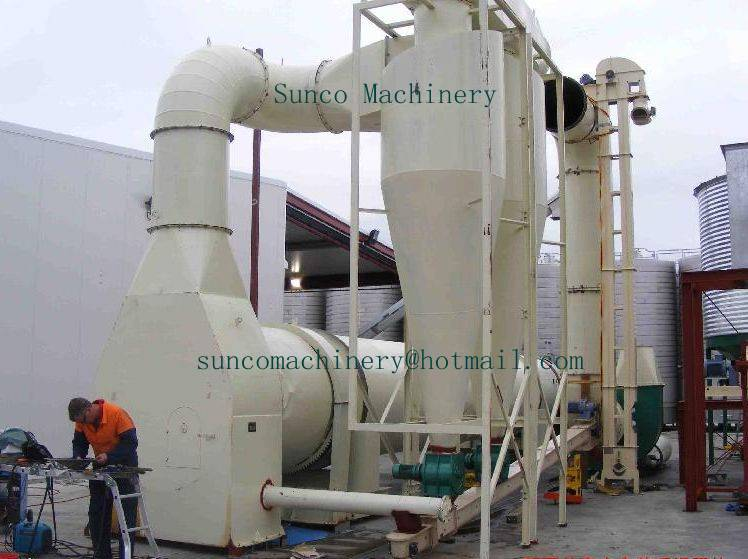 Fly Ash Dryer with high heat efficiency