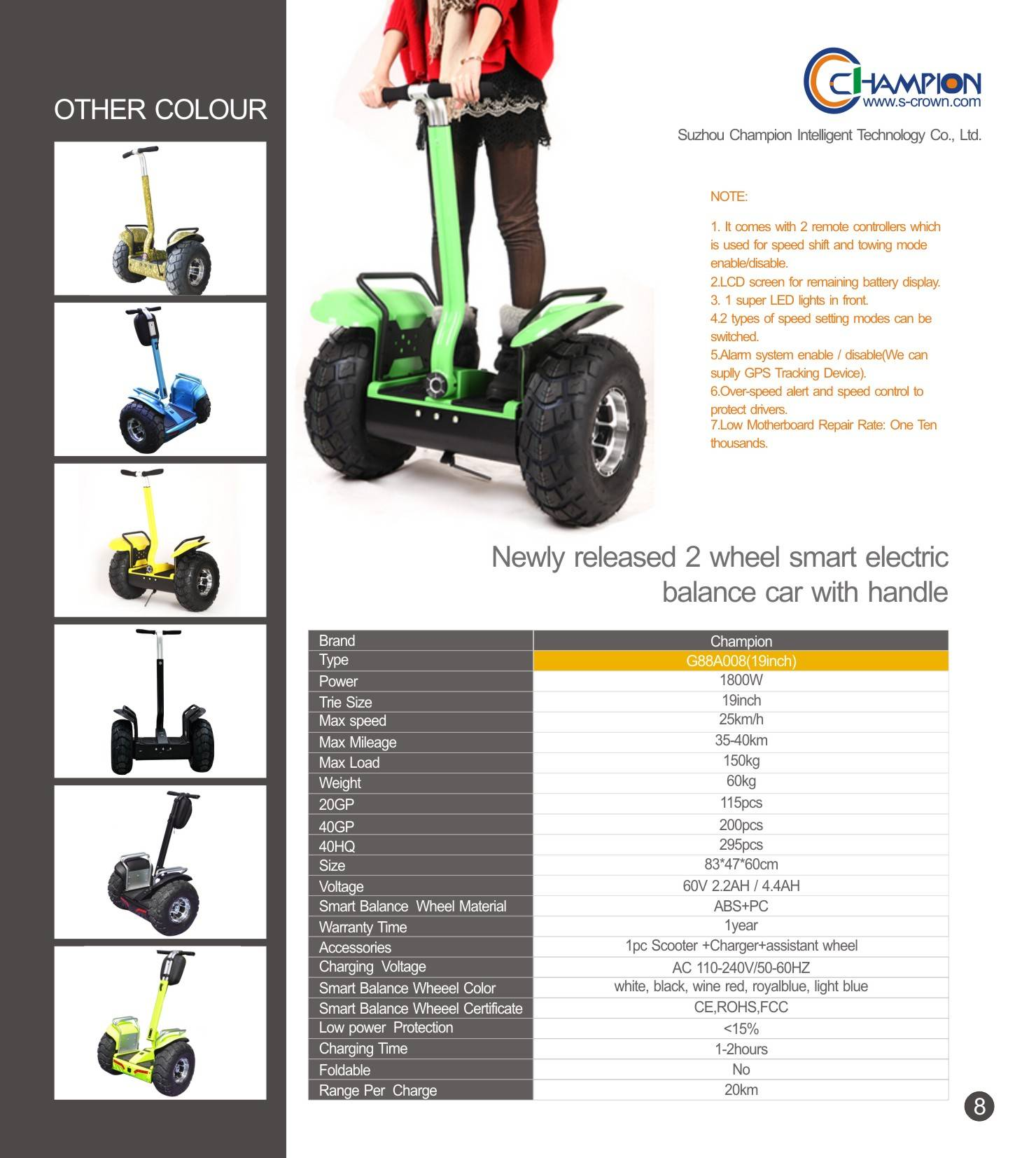 two wheel electric scooter with handle